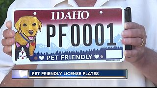 Pet friendly license plates now available in Idaho