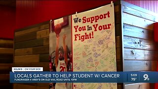 Community comes together to help local teen in his cancer fight