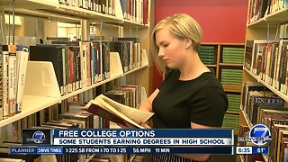 How Colorado students are saving money, even earning 'free' college degrees