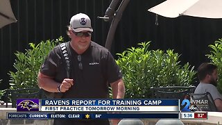 Ravens report to training camp