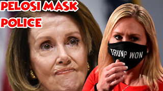 Pelosi Orders Capitol Police To Arrest House Members Not Wearing Masks
