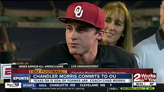 Chandler Morris commits to Oklahoma at Under Armour All American Bowl