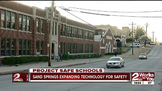 Sand Springs expanding technology for safety
