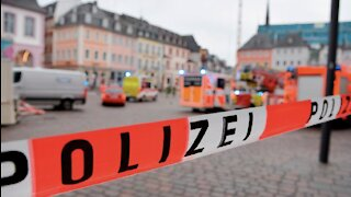 German man arrested after driving car into crowd, killing 5