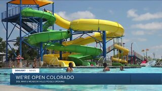 Aurora opening two outdoor pools today
