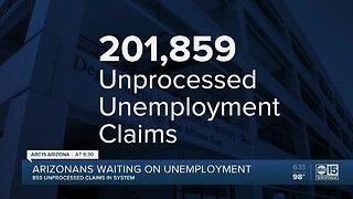Arizonans continue to wait on unemployment assistance
