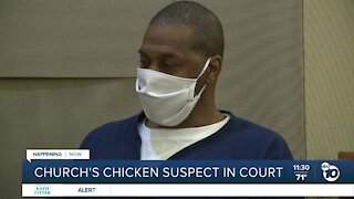 Church's Chicken shooting suspect appears in court