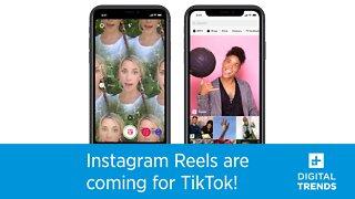 Instagram's Reels Are Just Like TikTok!