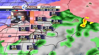 Winter storm this weekend