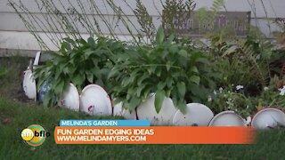Melinda's Garden Moment - Fun garden edging ideas