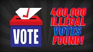 400,000 Illegal Votes FOUND!! Georgia Hearing!