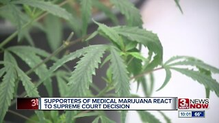 Supporters of Medical Marijuana React to Supreme Court Decision