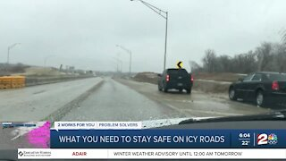 What you need to stay safe on icy roads