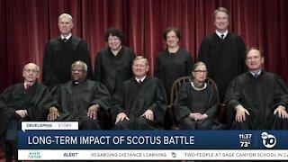 Local political expert speaks on SCOTUS battle