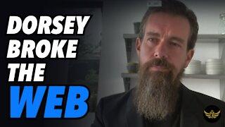 Dorsey breaks World Wide Web. Merkel, Macron & Navalny speak out