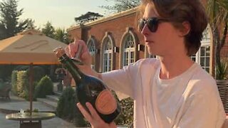 How to open a bottle of champagne in style