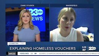 Explaining homeless vouchers