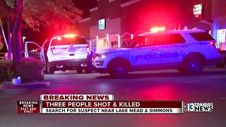 Three people shot & killed