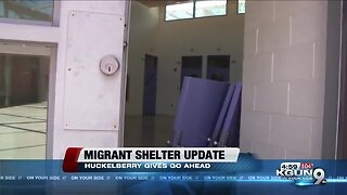County work back on track for new migrant shelter