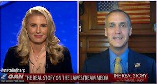The Real Story - OAN Lamestream Media with Corey Lewandowski