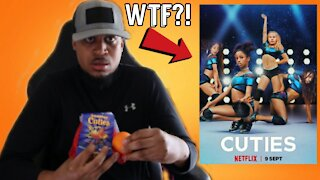 Reaction To Trailer of CUTIES Netflix Movie