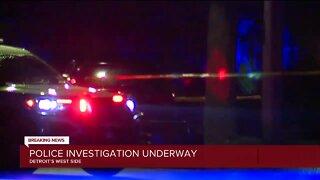 Police investigation underway in Detroit west side neighborhood