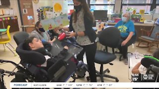 Star teacher uses music to boost students with special needs