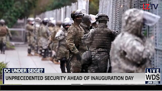 America Confused About Amped Up Military Presence At Biden Inauguration