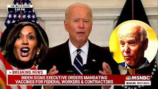 Biden vs Harris & Biden on Mandates