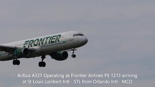Afternoon and early evening plane spotting at St. Louis Lambert International Airport August 17,2021