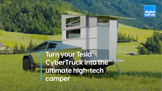 Turn your Tesla CyberTruck into the ultimate high-tech camper