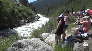 Kayakers take on Jacob's Ladder in NFC IX the return of the North Fork Championship