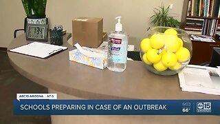 Schools preparing in case of coronavirus outbreak