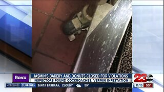 Jasmin's Bakery and Donuts closed for health code violations