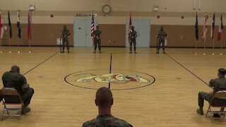 Headquarters & Support Battalion, School of Infantry-East - Change of Command