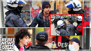 Hong Kong cops treated Rebel News better than Montreal police