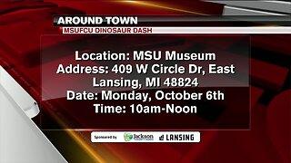 Around Town - MSUFCU Dinosaur Dash - 10/4/19