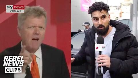 Avi Yemini's lockdown reporting gets a shoutout on Sky News Australia
