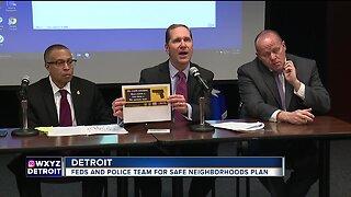 Feds, police team up for safe neighborhoods plan