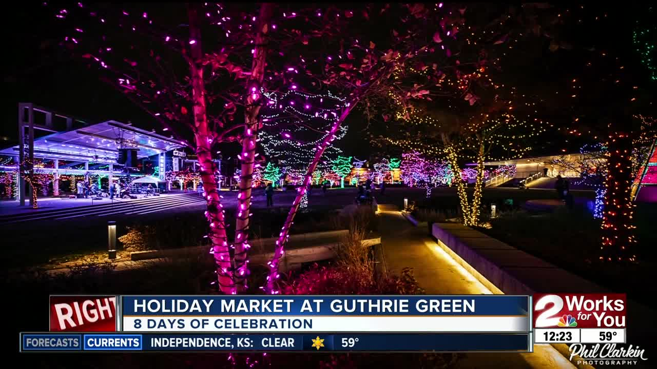 Holiday Market at Guthrie Green