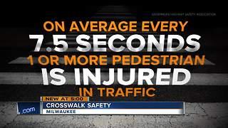 Milwaukee Walks raises awareness for pedestrian safety