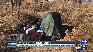 Cherry Creek State Park sees increase in homeless camps