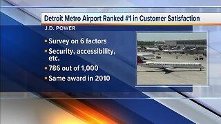 Detroit Metro Airport ranks best in