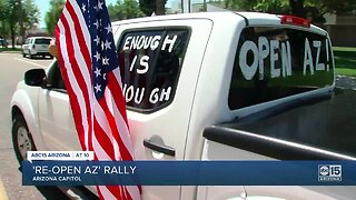 'Re-open AZ' rally at State Capitol
