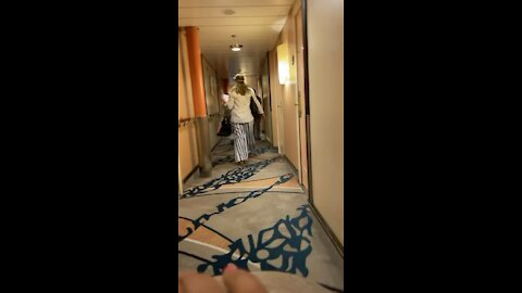 Woman Gets Physically Removed From Cruise After Testing Positive For COVID!