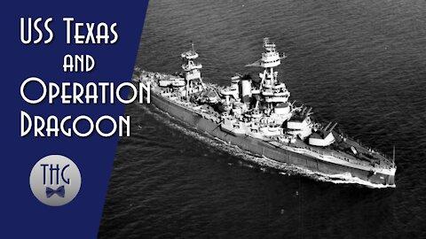 USS Texas and Operation Dragoon