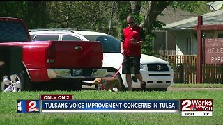 Tulsans voice improvement concerns ahead of town hall meeting