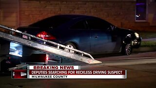 Deputies search for reckless driving suspect