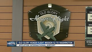 Old Glory Honor Flight take off