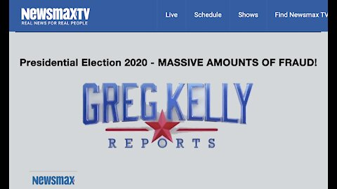 Greg Kelly Reports - MASSIVE AMOUNTS OF EVIDENCE OF FRAUDULENT ELECTION IN PA.